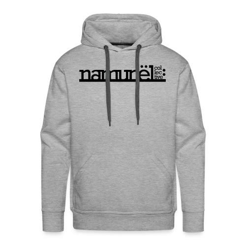 Namunël hoodie, grå - Herre Premium hættetrøje