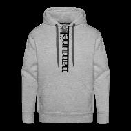 Sweatshirts ~ Herre Premium hættetrøje ~ Namunël hoodie, grå