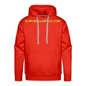 SWEAT CAPUCHE ROUGE - Sweat-shirt à capuche Premium pour hommes