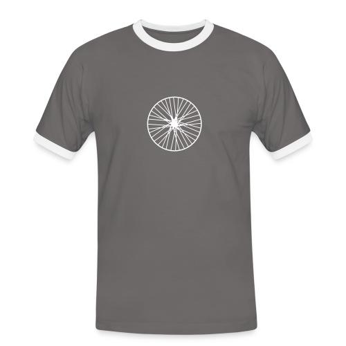 Laufrad - Männer Kontrast-T-Shirt