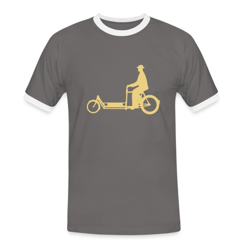 Long John - Männer Kontrast-T-Shirt