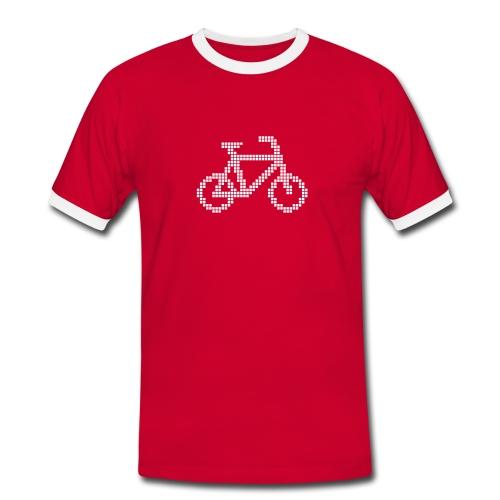 Digital - Männer Kontrast-T-Shirt