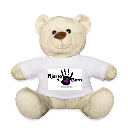 Hjerte-barns mascot *Cancan* - Teddybjørn
