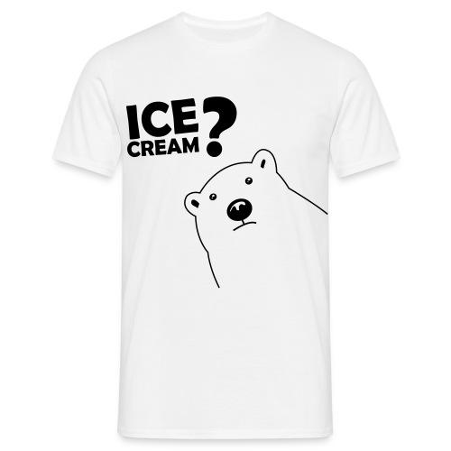 Icebär T-Shirt Weiß - Männer T-Shirt