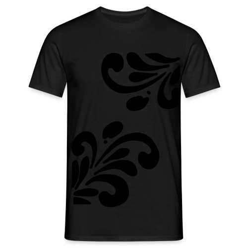 BLACK-Bembel - Männer T-Shirt