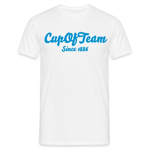 Cup of Team Since 1886 - Men's T-Shirt - Men's T-Shirt