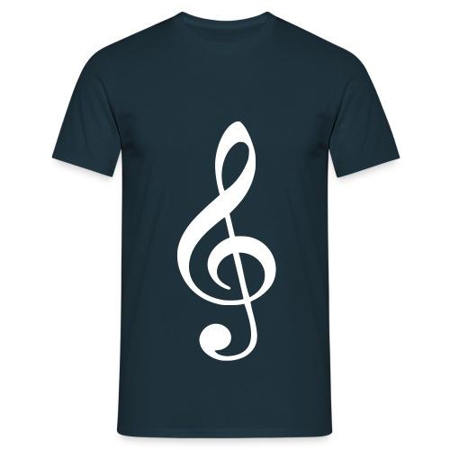 Music Note - Mannen T-shirt
