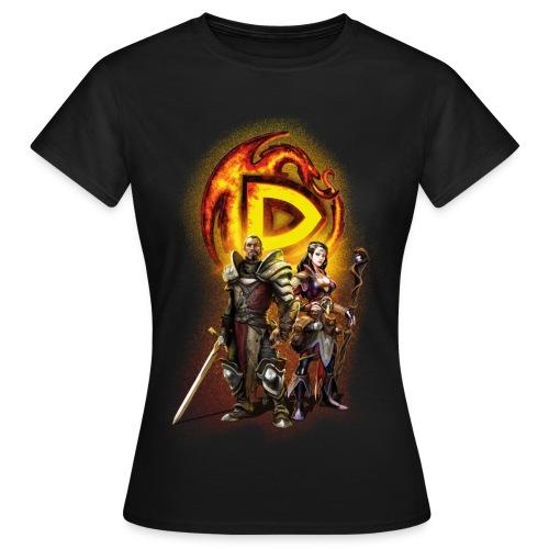 Drakensang  women's t-shirt with Hero design - Frauen T-Shirt