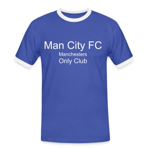 Manchester City - Men's Ringer Shirt