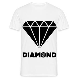 Diamond Mannen T-Shirt Boys. - Mannen T-shirt