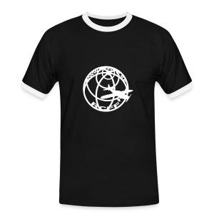 T-Shirt Glow in the dark - Kontrast-T-shirt herr