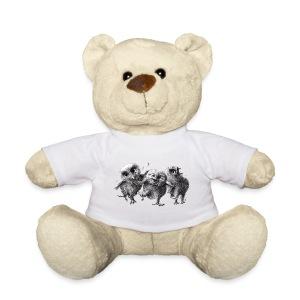 Drei verrückte Eulen - Teddy