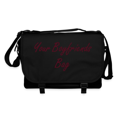 your Boyfriends  Bag Black - Umhängetasche