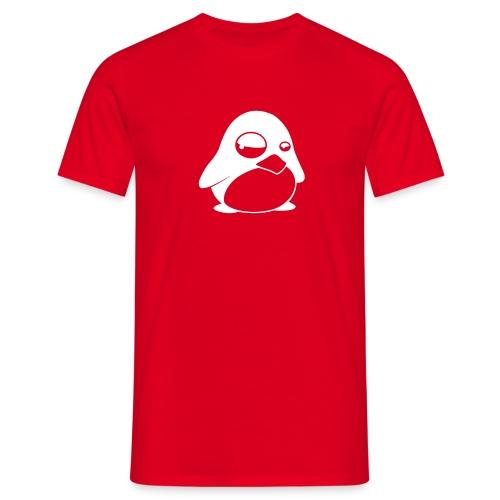 T-shirt Tux Röd - T-shirt herr