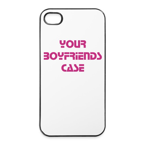 I Phone Hülle 4 / 4S pink your Boyfriends  - iPhone 4/4s Hard Case