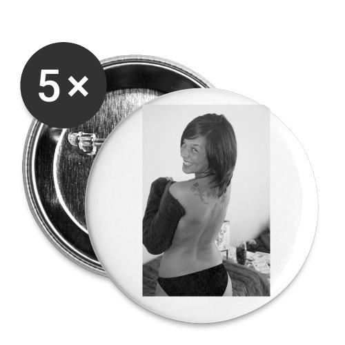 Unidentified Badge Rectangle Blanc - Badge petit 25 mm