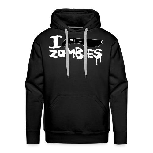 I shoot Zombies - Männer Premium Hoodie