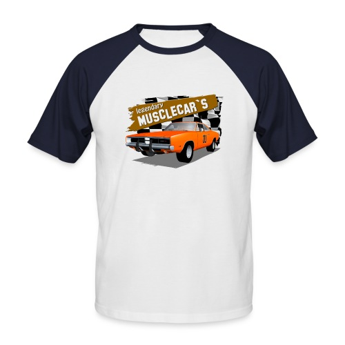 Dodge Charger Muscle Car - Men's Baseball T-Shirt