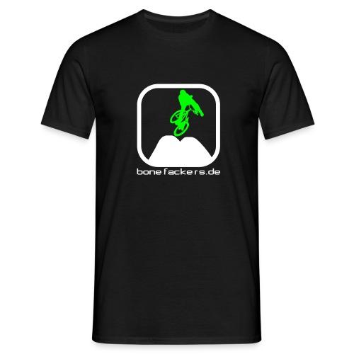 Dirt weiß grün - Männer T-Shirt