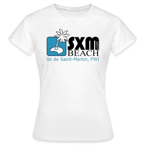 sxmbeach.com - T-shirt Femme