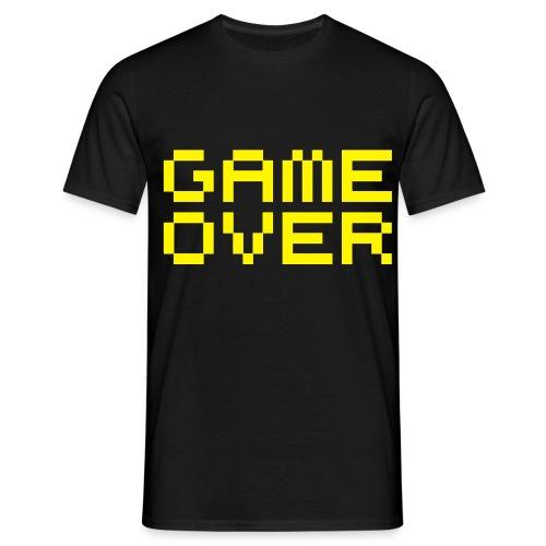 Game Over T-skjorte - T-skjorte for menn