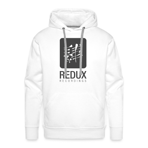 Redux Recordings Black & White - Men's Premium Hoodie