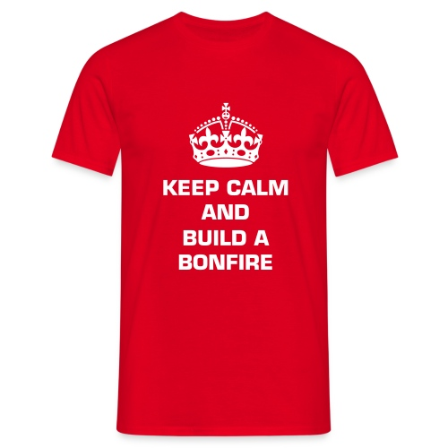 T- skjorte Keep calm... - T-skjorte for menn