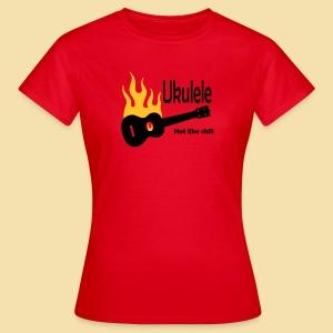 Ukulele burning lik chili