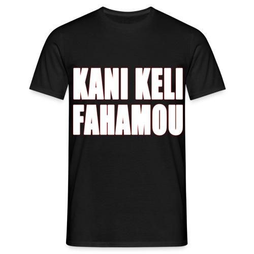 T shirt Kani Keli Fahamou Hommes - T-shirt Homme