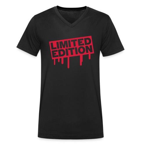 Limited - Männer Bio-T-Shirt mit V-Ausschnitt von Stanley & Stella