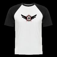 T-Shirts ~ Men's Baseball T-Shirt ~ JSH Logo #10-b