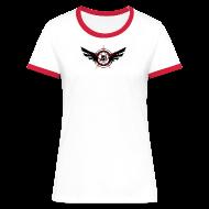 T-Shirts ~ Women's Ringer T-Shirt ~ JSH Logo #10-b