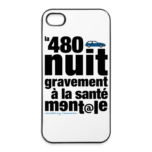 Coque iPhone 4/4S - Santé mentale - Coque rigide iPhone 4/4s