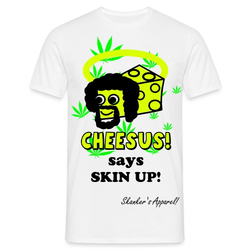 CHEESUS, WEED TEESHIRT - Men's T-Shirt