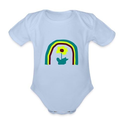 kinder+bilder - Baby Bio-Kurzarm-Body