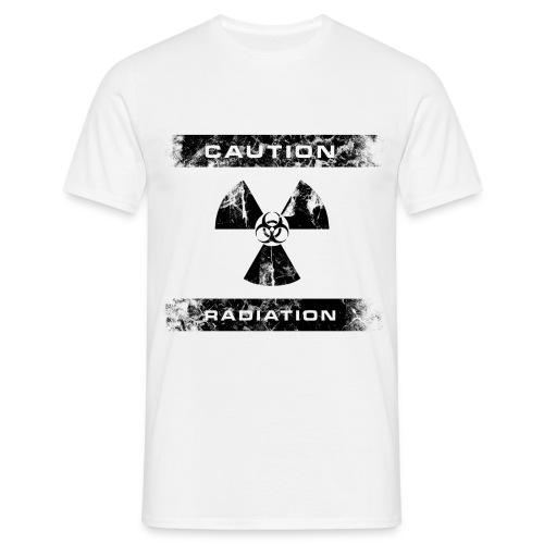 CAUTION RADIATION - Bio Hazard (Basic) - Männer T-Shirt
