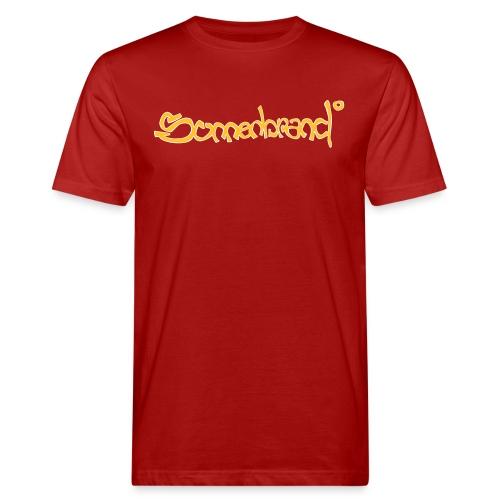 Sonnenbrand°Lsf 6 Tee *Basic Protection Jungs red - Männer Bio-T-Shirt