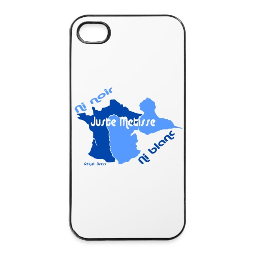 Coque Iphone 4/4S France/Guadeloupe - Coque rigide iPhone 4/4s