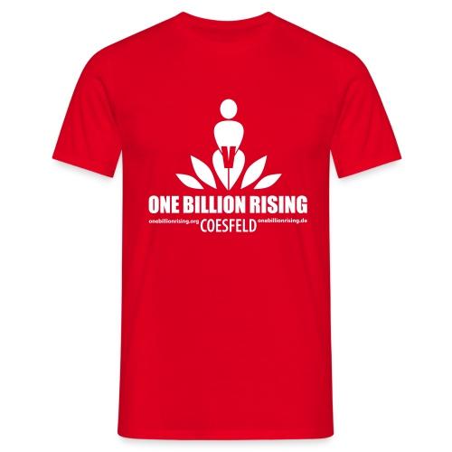 Coesfeld rot - Männer T-Shirt