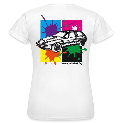 T-shirt classique femme recto-verso - Gribouille - T-shirt Femme