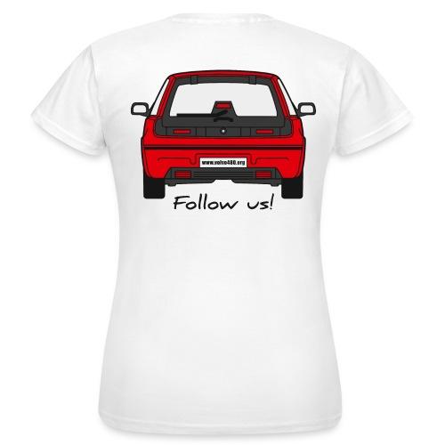 T-shirt classique femme recto-verso - Follow us - T-shirt Femme