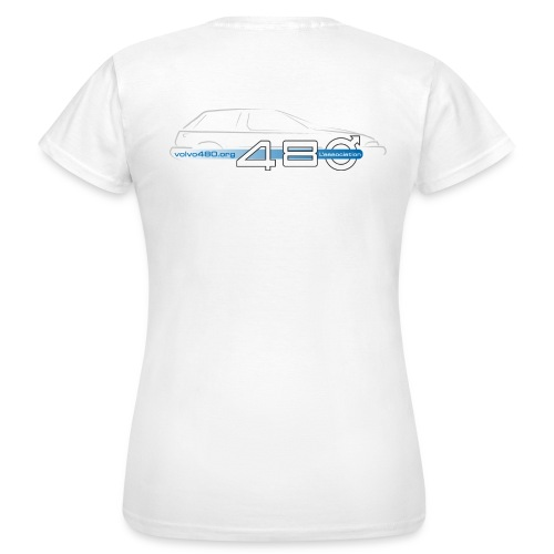 T-shirt classique femme recto-verso - Logo association - T-shirt Femme