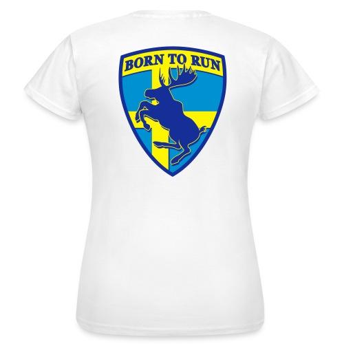T-shirt classique femme recto-verso - Elan cabré - T-shirt Femme