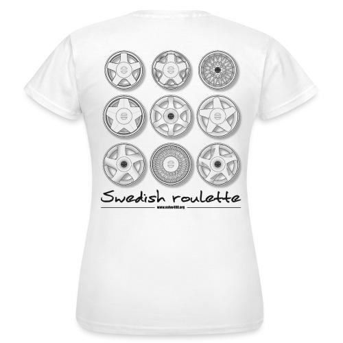 T-shirt classique femme recto-verso - Swedish roulette - T-shirt Femme