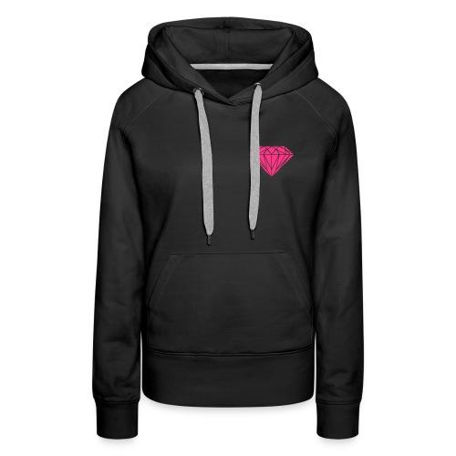 Diamond Lounge Sweatshirt Lady - Frauen Premium Hoodie