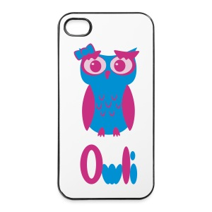 Miss Owli - iPhone 4/4s Hard Case