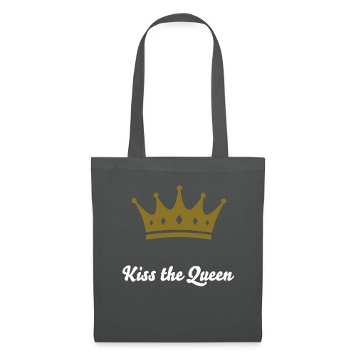 Kiss the Queen - Hipster Bag - Stoffbeutel