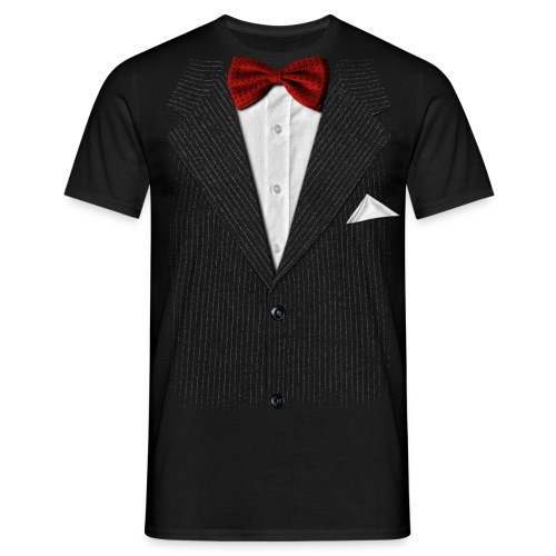 Bow Tie Tee BL - Mannen T-shirt