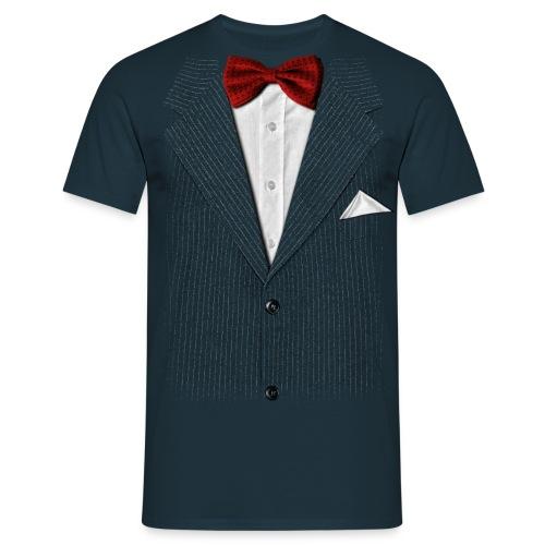 Bow Tie Tee Na - Mannen T-shirt