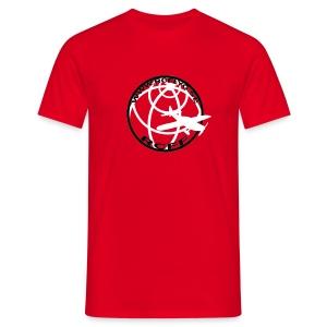 T-Shirt Röd - T-shirt herr